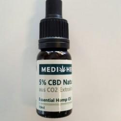 CBD Olio Estratto 5% ( 10ml )