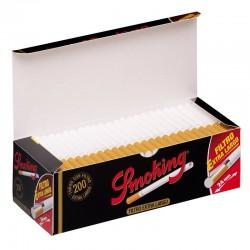 Fumeurs Pipes Extra Cigarettes Filtre Long (200 Tubes)