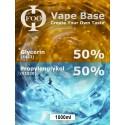 E-Liquido Base Foo Fluids 50%VG/50PG (1000ml)