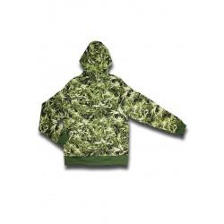 Sweatshirt (L) Mimetica Canapa
