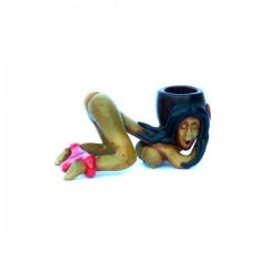 Pipa a Mano 'Donna' 8cm