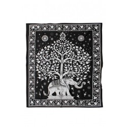 Telo GOA 'Elef. Tree' 2200x2400mm (100% Cotone)