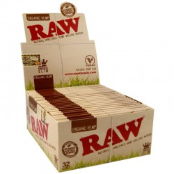Cartine Raw Slim Organic Hemp