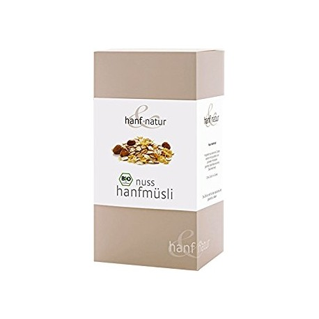 Hemp Muesli with Hazelnuts