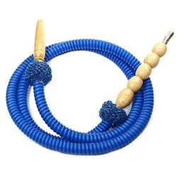 Shisha tuyau en plastique bleu