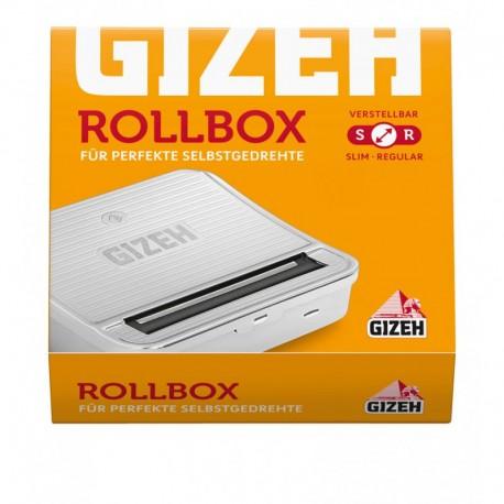 Macchina Gizeh in Metallo Rollbox per Sigarette Regular e Slim