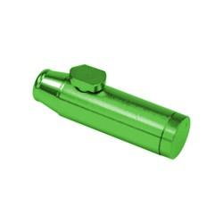 Grüner Aluminiumspender