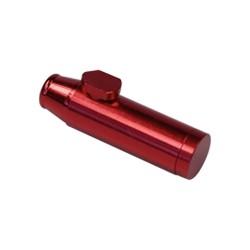 Roter Aluminiumspender