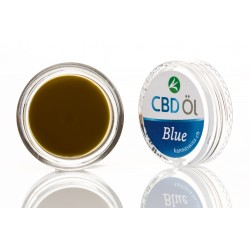 CBD Oil label blue 10% (1g)