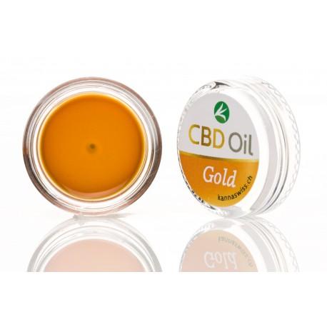 CBD oil label Gold 15% (1g)