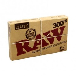 Raw 300'S Classique Taille moyenne 300 papiers