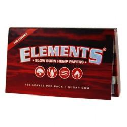 Elements Rot Normalgröße (Hanf)