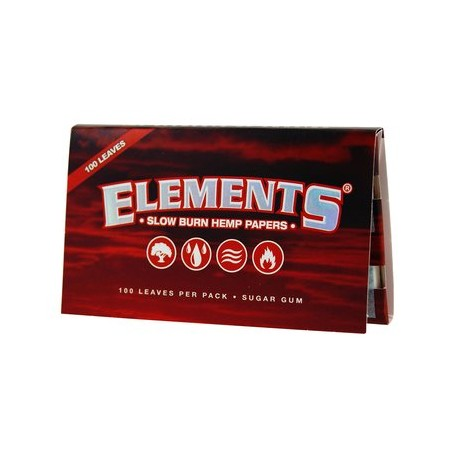 Elements Red Regular Size (Hemp)