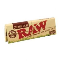 Raw organique unique large taille régulière