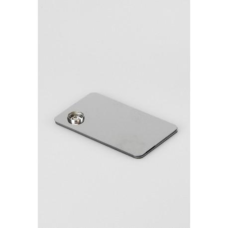 Pipe silver metallic card