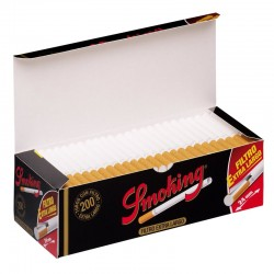 Zigarettenpfeifen Extra Zigaretten Long Filter (200 Tubes)
