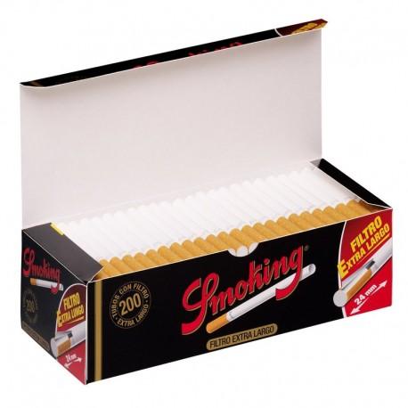 Smoking Tubi Sigarette Extra Long Filter ( 200 Tubi )