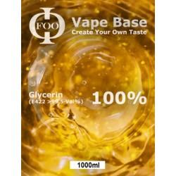 E-Liquid Base Foo Fluids 100% VG (1000 ml)