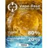 E-Liquido Base Foo Fluids 80%VG/20PG (1000ml)