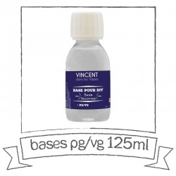 E-Liquido Base PG/VG 50/50 (125ml)