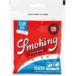 Filtres Smoking Classic 6mm Slim Taille