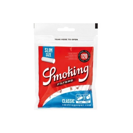 Smoking Classic 6mm Slim Size filters