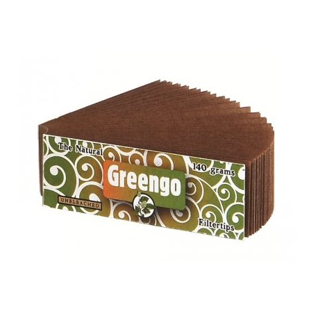 Greengo unbleached filters
