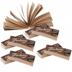 Filtri Smoking Brown Unbleached (50 filtri )