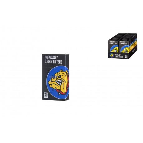 Black Bulldog Filters (5.3mm) (150PZ)