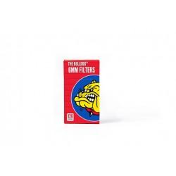 Red Slim Bulldog filters (6mm) (126PZ)