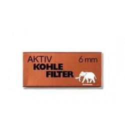 Elefantenweißfilter (6mm) (45 Filter)
