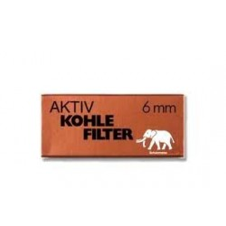 Elephant White Filters (6mm) (45 Filters)