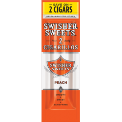 Swisher Sweets Limited Pêche