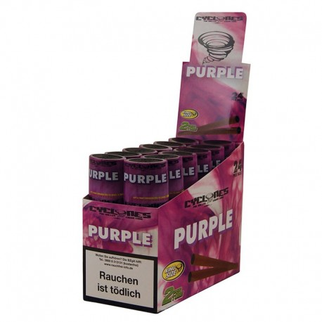 Cyclones pre-rollati 'Purple' (2PZ)