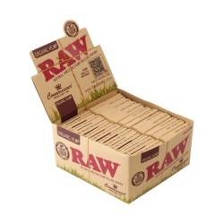 Raw Connoisseur Organic King Size Slim + Filters Box
