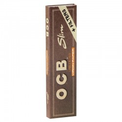 OCB Unbleached Virgin King Size Slim + Filtri