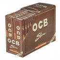 OCB Unbleached Virgin King Size Slim + Filters Box