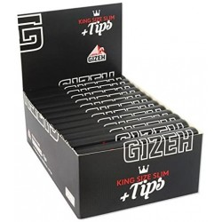 Gizeh Black King Size Slim + Filters Box