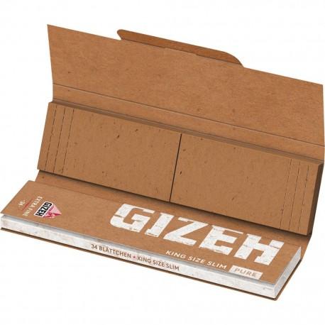 Gizeh Pure Organic King Size Slim + filtri