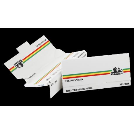 Ziggy White King Size Slim + Filters