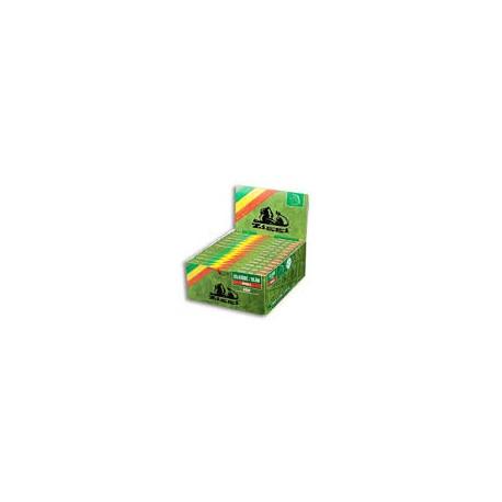 Ziggi green King Size Slim + Filters Box