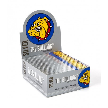 Bulldog Argento King Size Slim Box