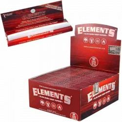Elemente Rot King Size Slim Box