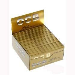 OCB Premium Gold King Size Slim Box