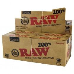 Raw 200'S Classic King Size Slim Box