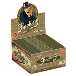 Smoking Organic King Size Slim Box