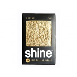 Shine 24K 1 1/4 Medium Size 2 Cartine Gold