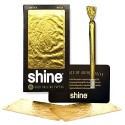 Shine 24 1/4 Medium Size 12 Cartine Gold