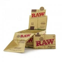 Raw Artesano Bio 1 1/4 Taille Moyenne + Filtres Box