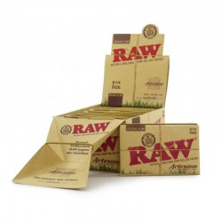 Raw Artesano Organic 1 1/4 Medium Size + Filtri